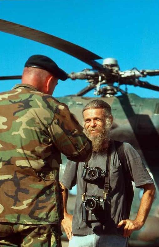 Al Rockoff face à un autre vétéran du Vietnam
